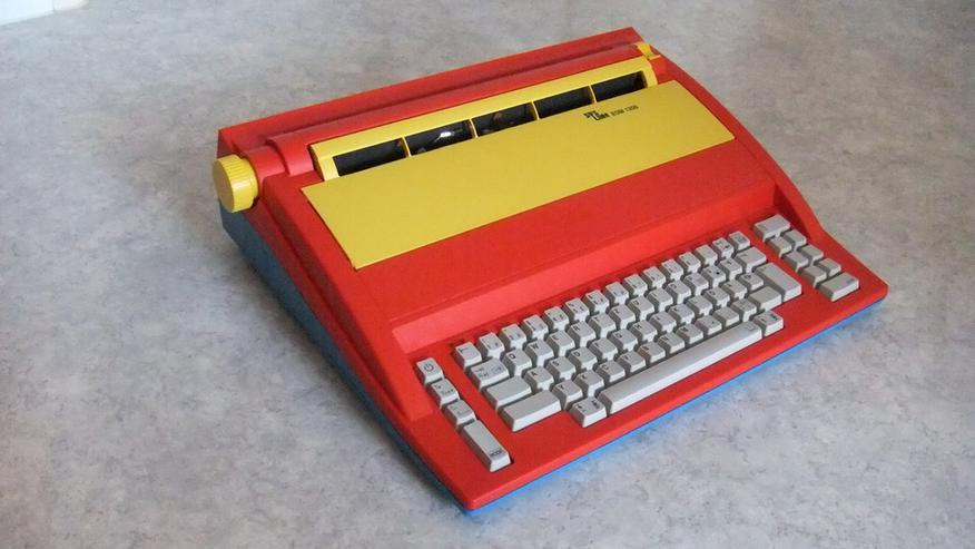 elektrische Schreibmaschine + Farbband