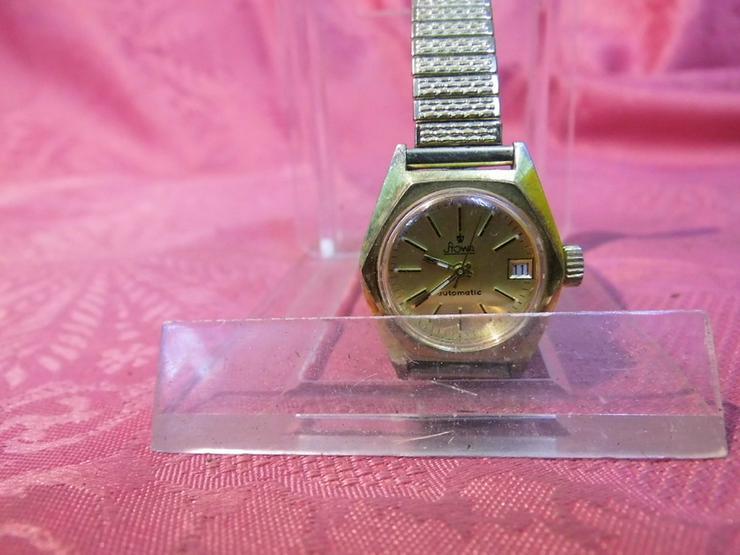 Damenarmbanduhr Stowa / mechanische Uhr mit Au