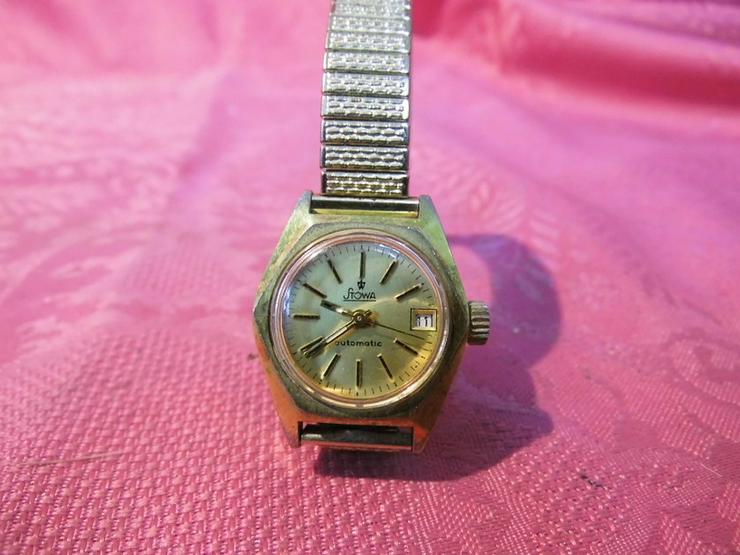 Bild 2: Damenarmbanduhr Stowa / mechanische Uhr mit Au