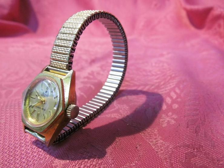 Bild 3: Damenarmbanduhr Stowa / mechanische Uhr mit Au