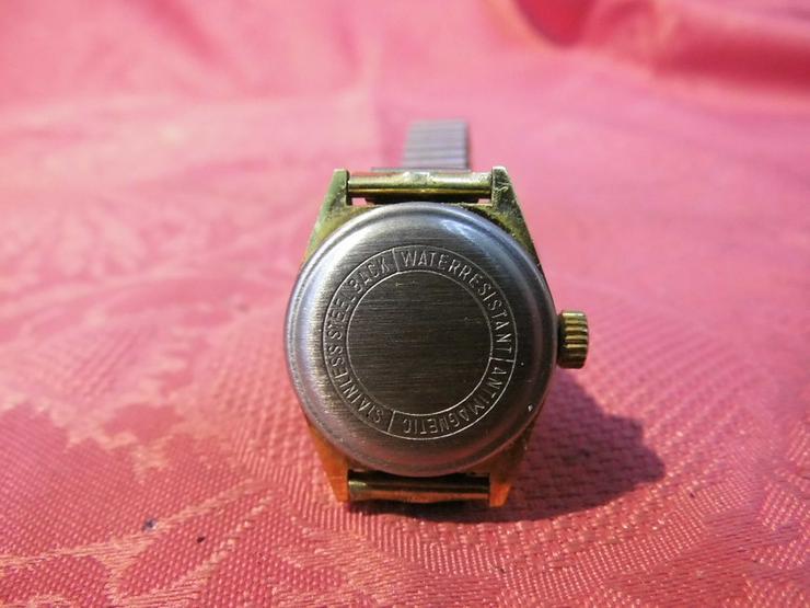 Bild 5: Damenarmbanduhr Stowa / mechanische Uhr mit Au