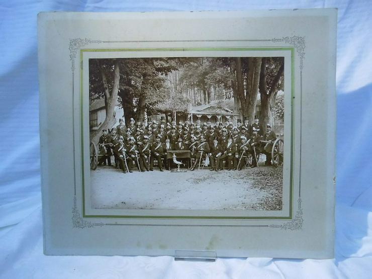 Antikes Foto des Kriegervereins der 7. Thüring