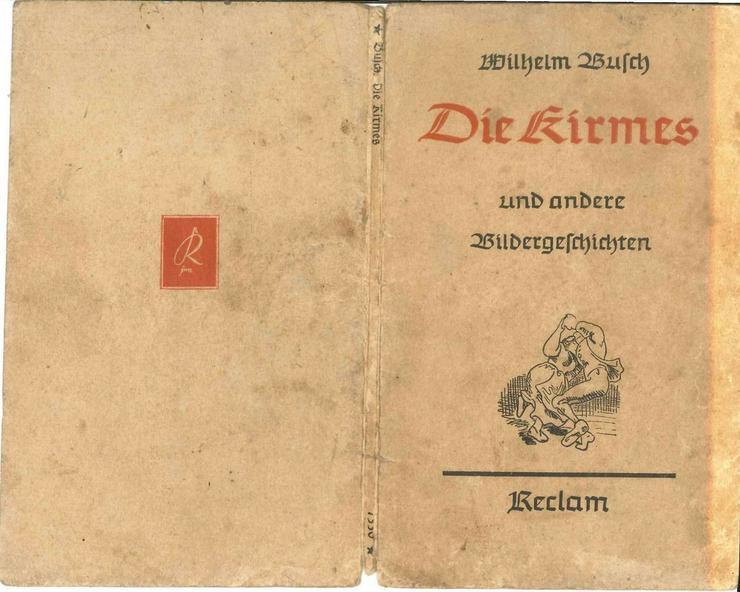 Wilhelm Busch, Die Kirmes und andere Bilderges - Klassische Dichtung - Bild 1