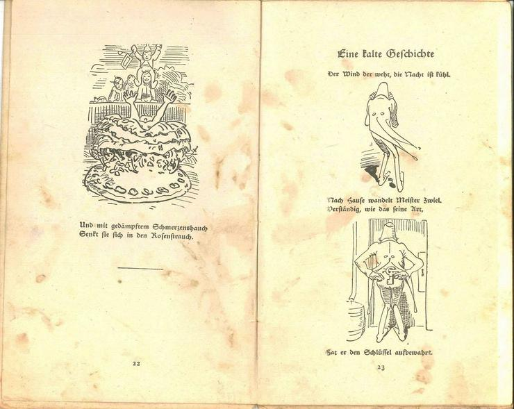 Bild 3: Wilhelm Busch, Die Kirmes und andere Bilderges