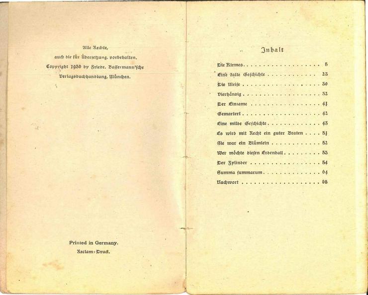 Bild 5: Wilhelm Busch, Die Kirmes und andere Bilderges