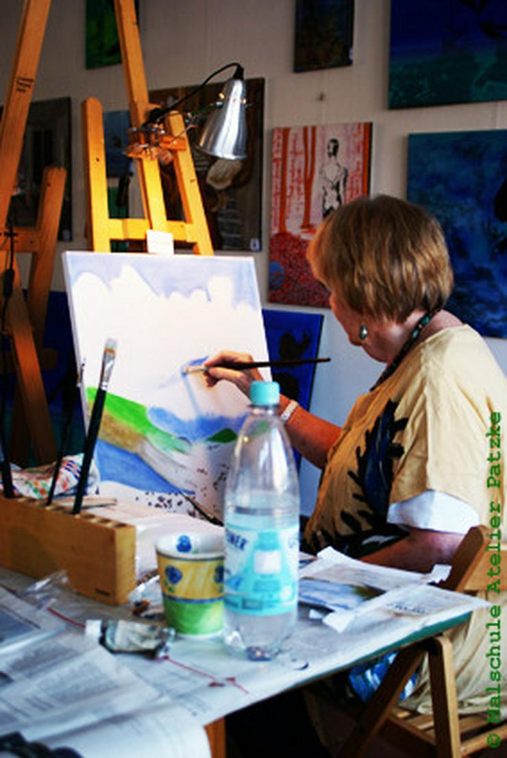 Bild 4: Malkurs Ölmalerei