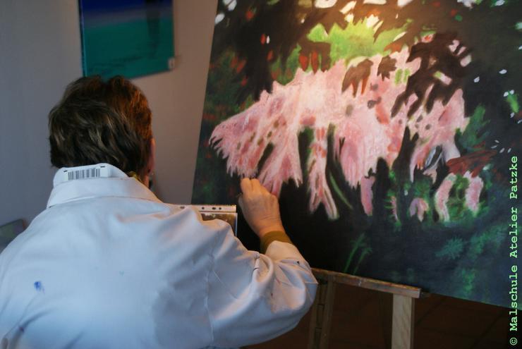 Bild 5: Malkurs Ölmalerei