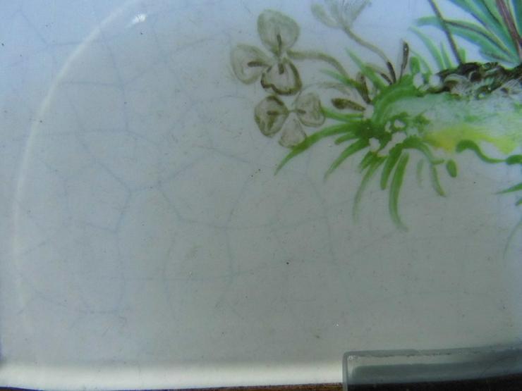 Bild 3: Waechtersbach 9177/2 Keramikfliese / Kachel Bl