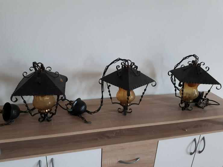 Verkaufe 3 Dekorative Leuchten für Partykeller