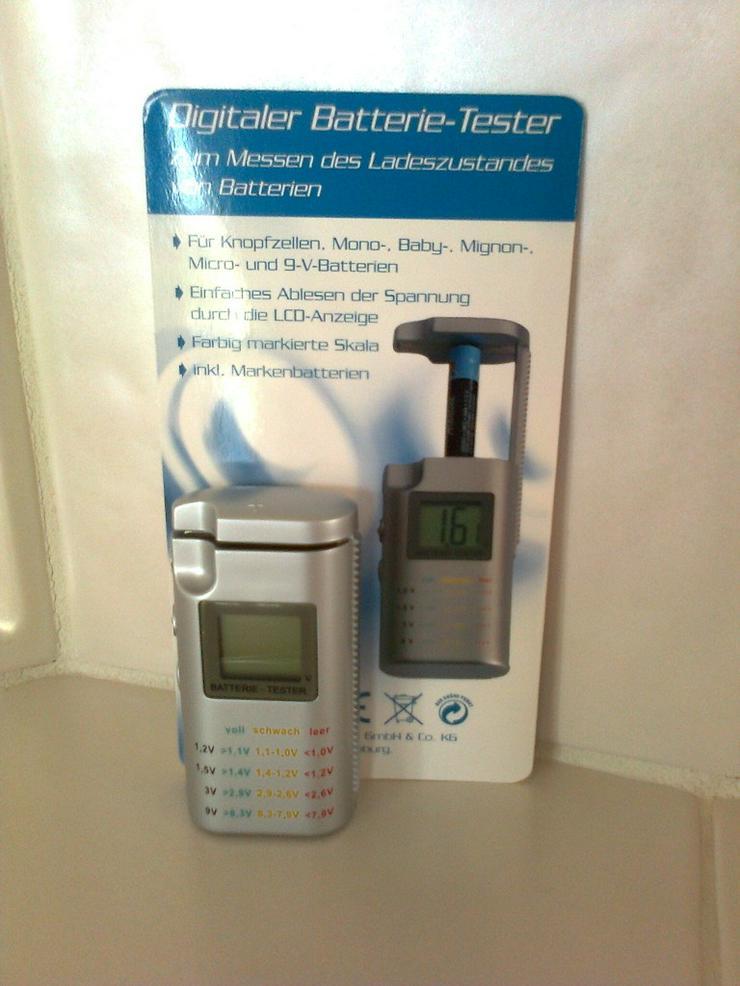 Digitaler Batterie-Tester - neu
