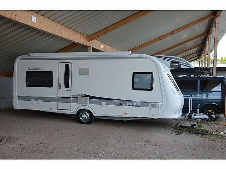 Wohnwagen Hobby Luxus 560 Cfe