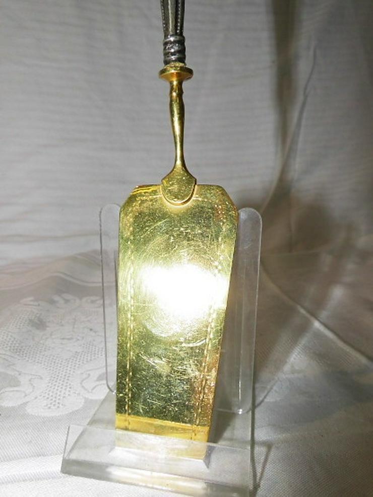 Bild 4: Antiker Kuchen - Tortenheber 800er Silberaufla