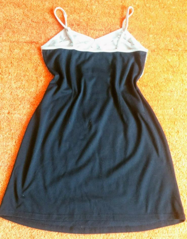 Bild 3: Damen Kleid Träger Jersey Gr.S Glitzer Verzehr