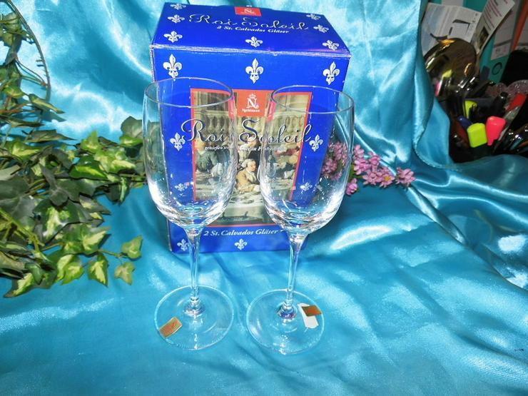 NACHTMANN 2 Stk. Calvados Gläser Roi Soleil, 2 - Bild 1