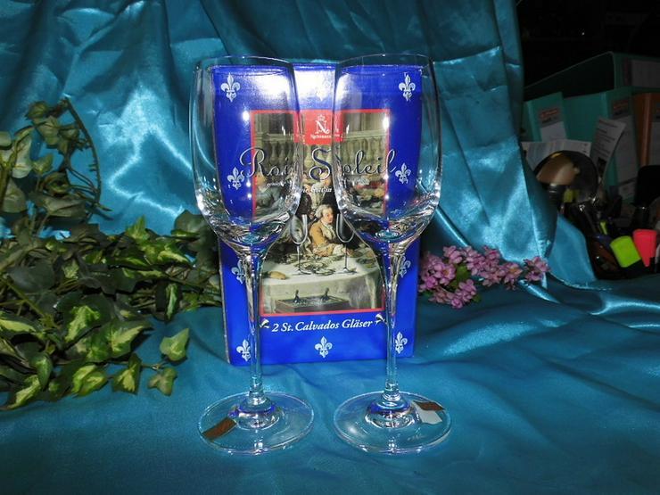 Bild 2: NACHTMANN 2 Stk. Calvados Gläser Roi Soleil, 2