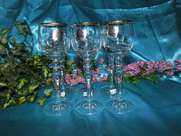 FLIRT Sherry - Gläser, Likörglas mit Goldrand - Gläser - Bild 1