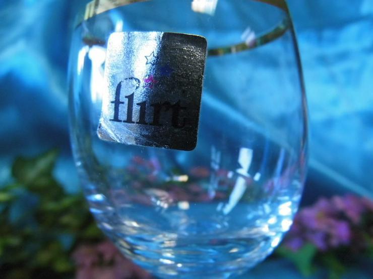 Bild 5: FLIRT Sherry - Gläser, Likörglas mit Goldrand