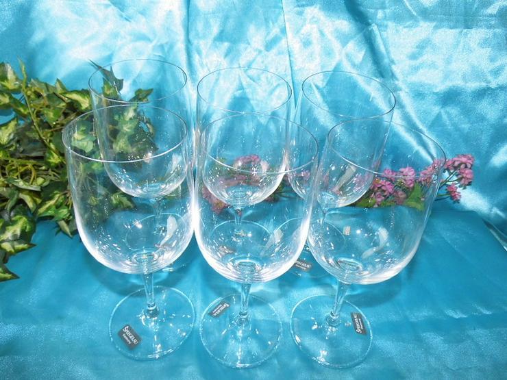 6 Stk. SPIEGELAU Mineralwasser - Glas, Wasserg - Gläser - Bild 1