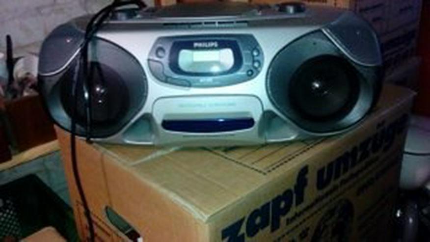 Verkaufe Radiorecorder mit CD-Player