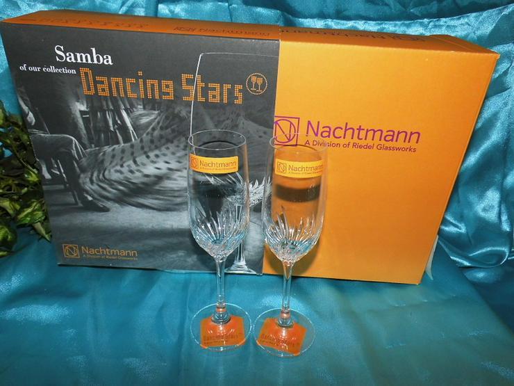NACHTMANN 2 Stk. Schnapskelch - Glas Samba, Da - Bild 1