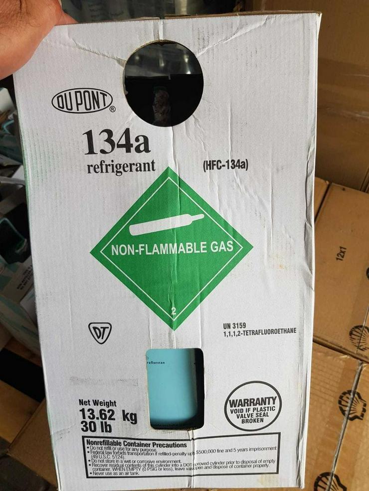 Bild 2: Klimaanlagen Gas r134a