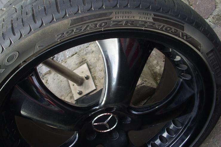 ++Mercedes 22 Zoll Kompletträder ML,R-Klasse++ - Bild 1