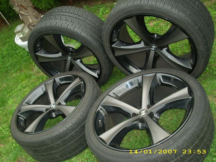 ++Mercedes 22 Zoll Kompletträder ML,R-Klasse++ - Sommer-Kompletträder - Bild 1