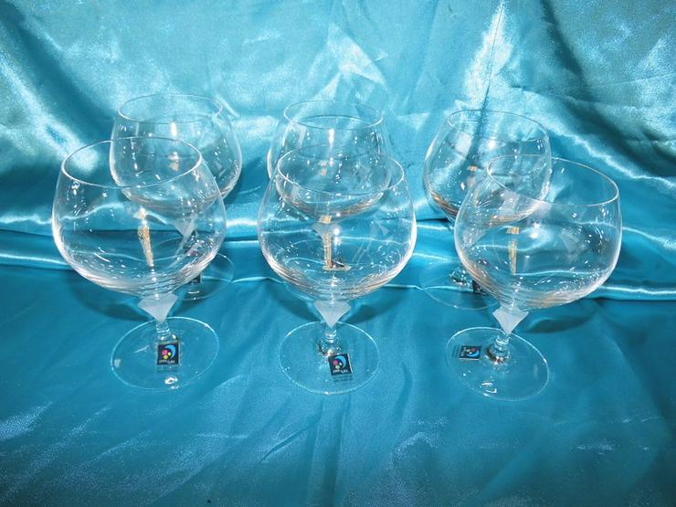 MARC AUREL 6 Stk. Cognac - Schwenker Gläser Vo - Gläser - Bild 1