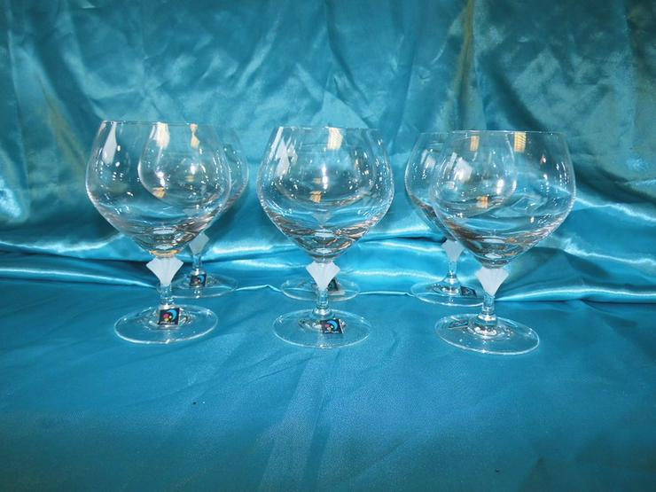 Bild 2: MARC AUREL 6 Stk. Cognac - Schwenker Gläser Vo