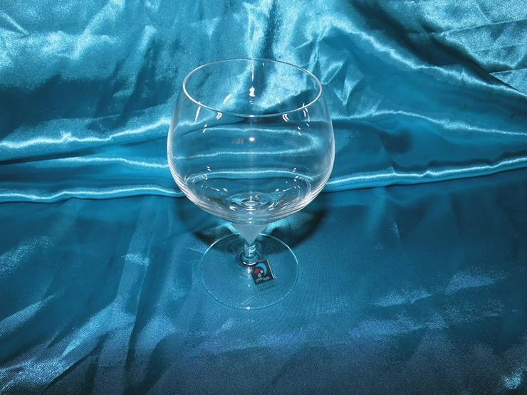 Bild 3: MARC AUREL 6 Stk. Cognac - Schwenker Gläser Vo