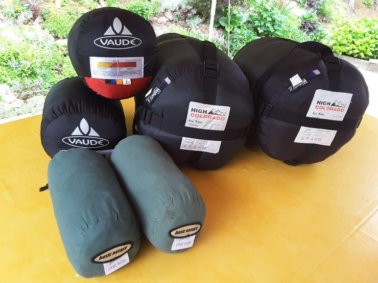 Winterschlafsäcke , Sommerschlafsäcke je 2 St. - Bild 1