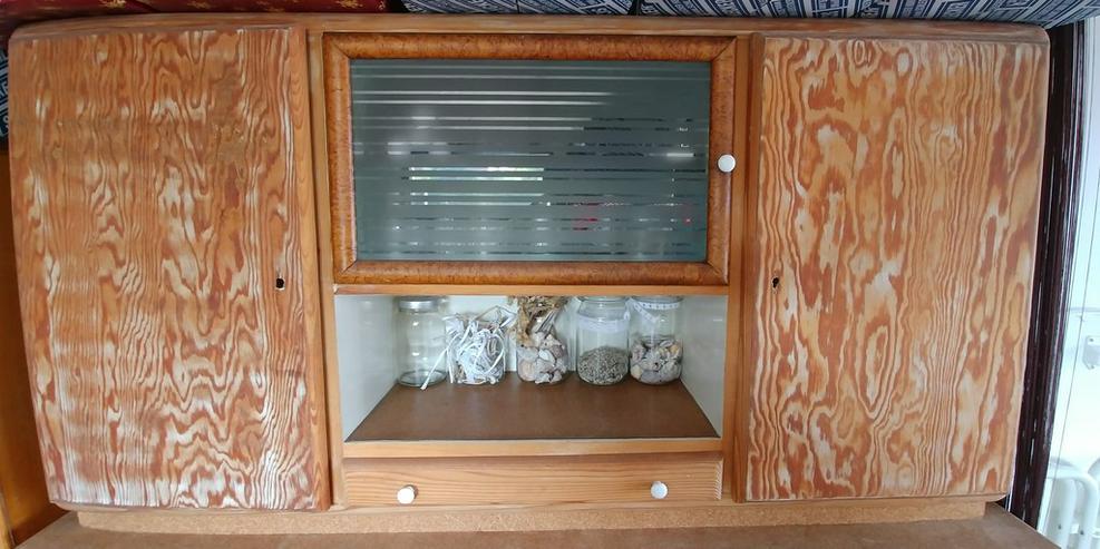 Bild 2: schöner alter Massivholz Küchenbuffet Schrank aus Omas Zeiten
