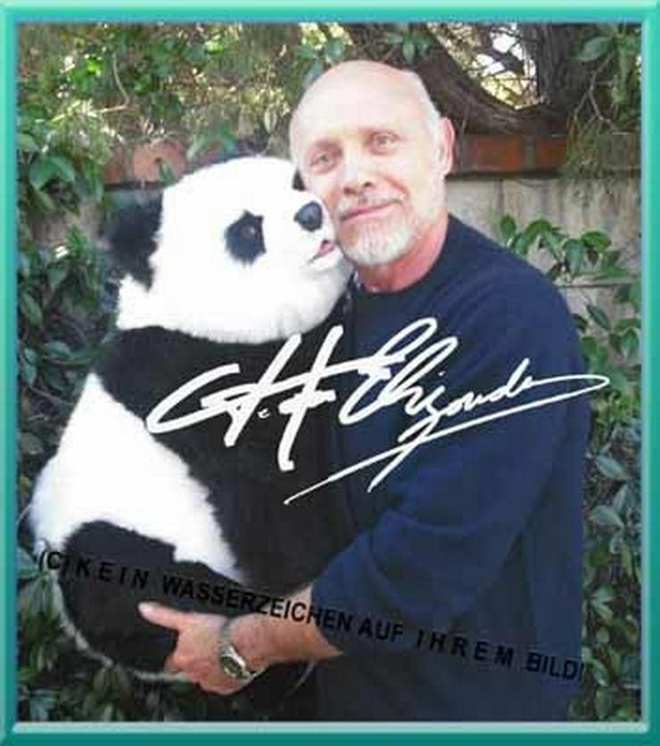 -Pretty Woman- star HECTOR ELIZONDO und sein Panda.