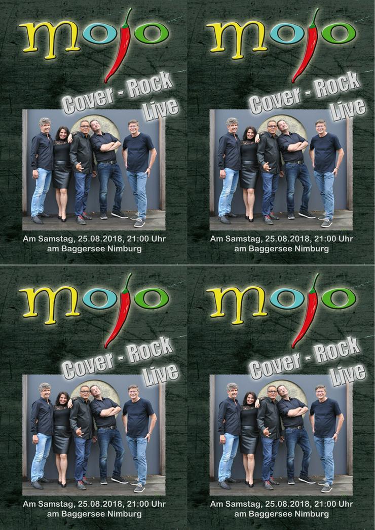 Konzert Coverband MOJO  25.08.18 - Feste, Partys & Disco - Bild 1