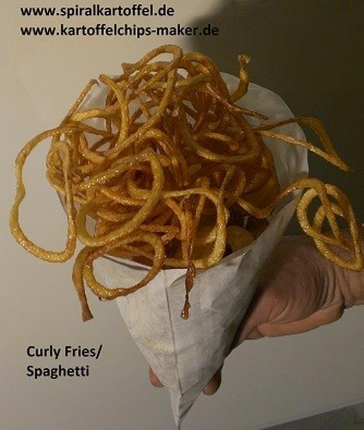 Bild 2: Spiralkaroffel Kartoffelchips
