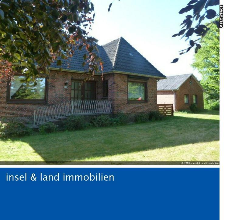 Schönes großes Einfamilienhaus mit Nebenhaus und Garage - Haus kaufen - Bild 1