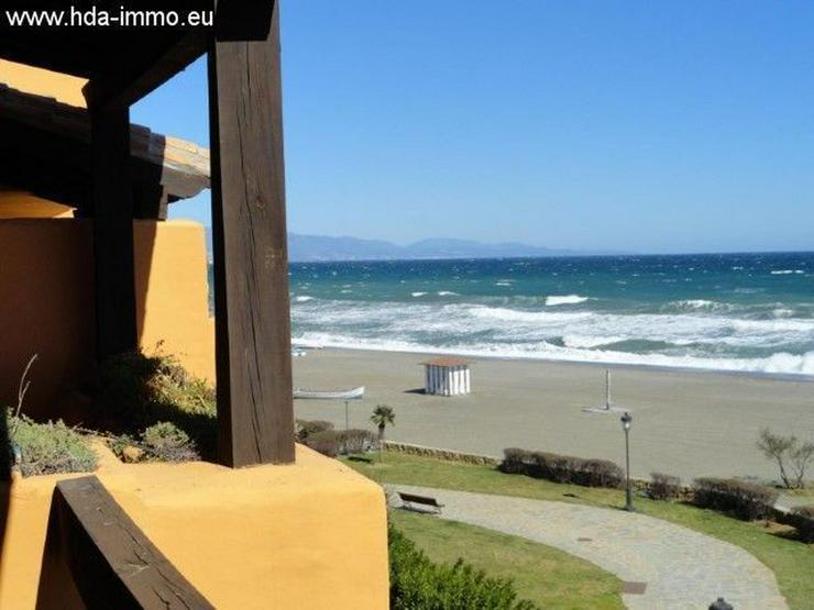 : Schöne Ferienwohnung direkt am Meer in La Duquesa, Manilva - Wohnung kaufen - Bild 1