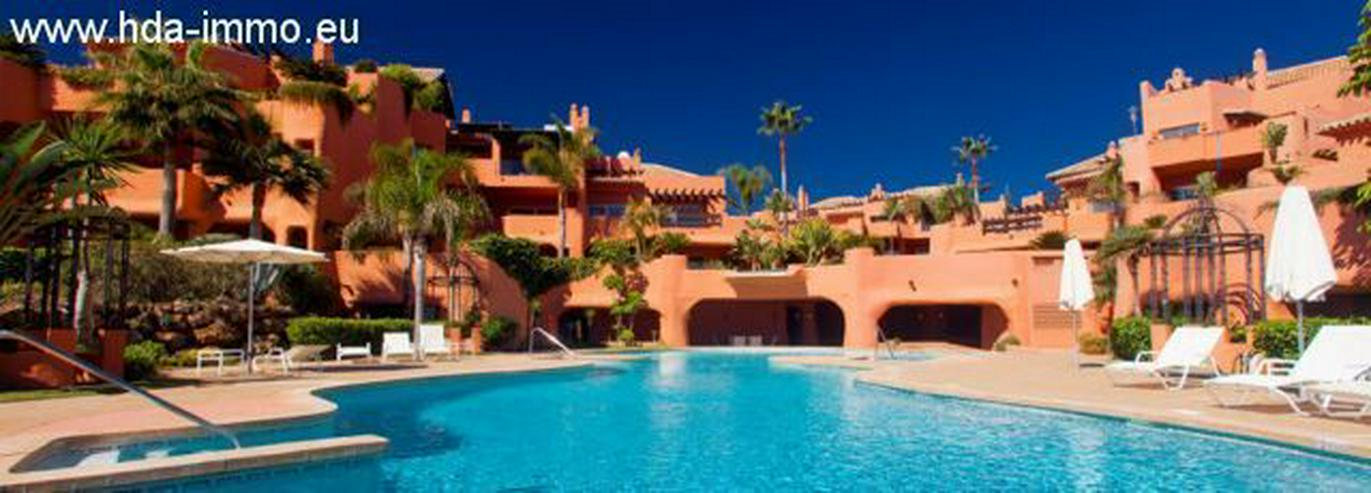 Bild 3: : Luxus Duplex Penthouse in 1. Meereslinie in Marbella.