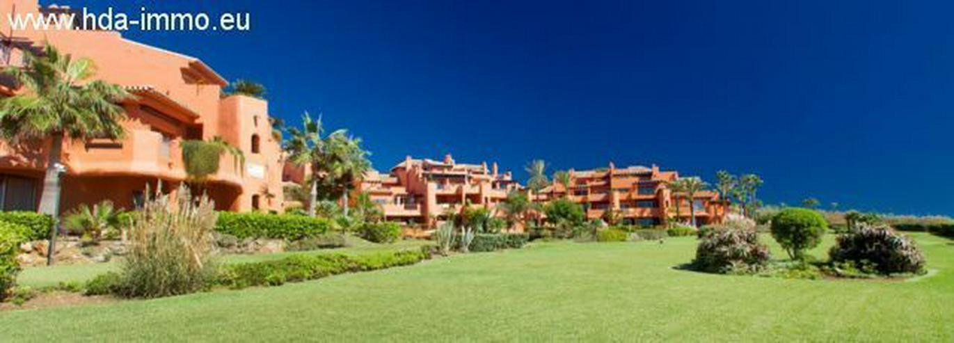 : Luxus Duplex Penthouse in 1. Meereslinie in Marbella. - Wohnung kaufen - Bild 1