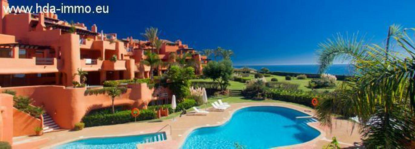 Bild 2: : Luxus Duplex Penthouse in 1. Meereslinie in Marbella.