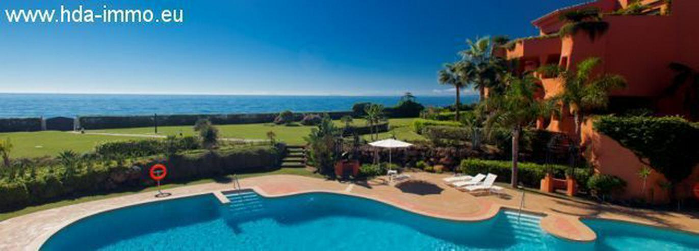 Bild 4: : Luxus Duplex Penthouse in 1. Meereslinie in Marbella.
