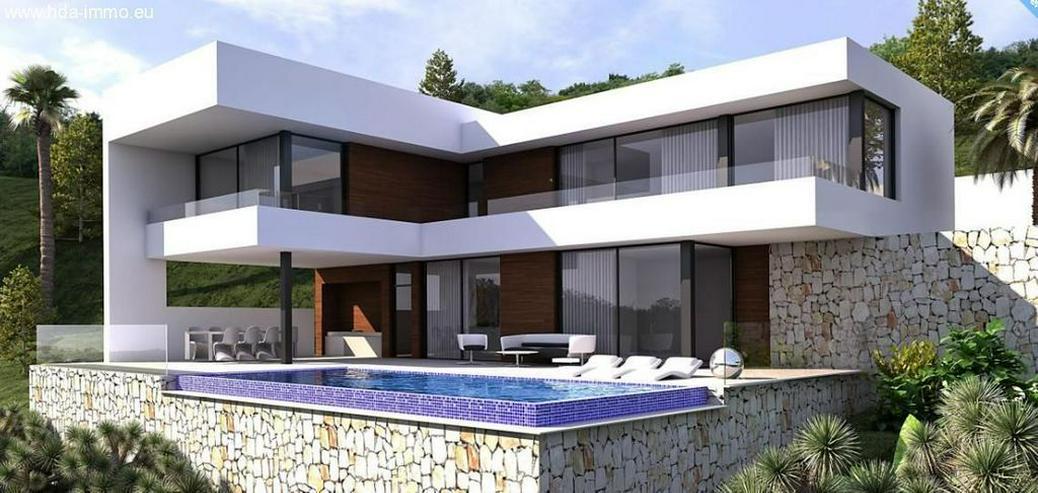 : Neubau, Luxus-Villa auf 1003m² Grundstück in Elviria (Marbella-Ost) - Haus kaufen - Bild 1