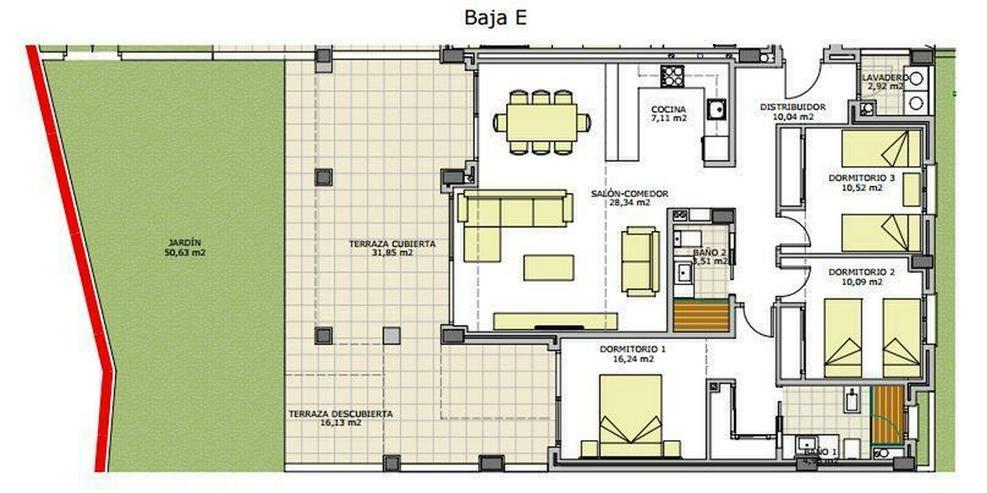 Bild 4: : Neubauwohnung mit spektakulärerer Aussicht mit 3-Schlafzimmer
