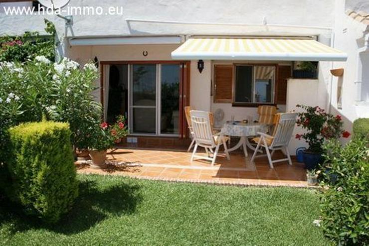 : Gemütliches Garten-Appartement in kleiner Anlage mit schönem Meerblick - Wohnung kaufen - Bild 1