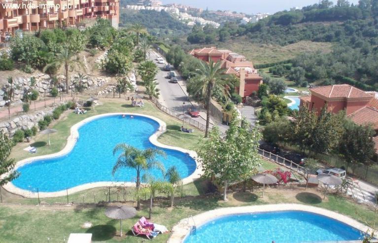: schönes Penthouse mit Meerblick mit 2 SZ in La Reserva de Marbella - Wohnung kaufen - Bild 1
