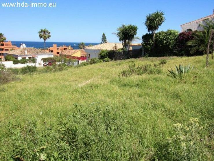 : Wunderschönes Meerblickgrundstück in Estepona (Buenas Noches) - Auslandsimmobilien - Bild 1