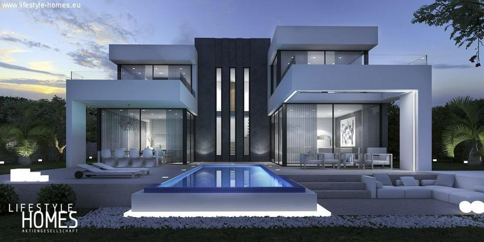: Super Luxus Villa im Bauhausstil - 3 SZ (ohne Grundstück) - Haus kaufen - Bild 1
