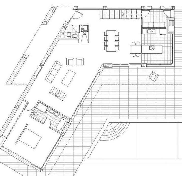 Bild 3: : Super moderne Luxus Villa im Bauhausstil, 4 SZ (ohne Grundstück)