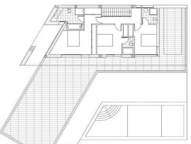 Bild 2: : Super moderne Luxus Villa im Bauhausstil, 4 SZ (ohne Grundstück)