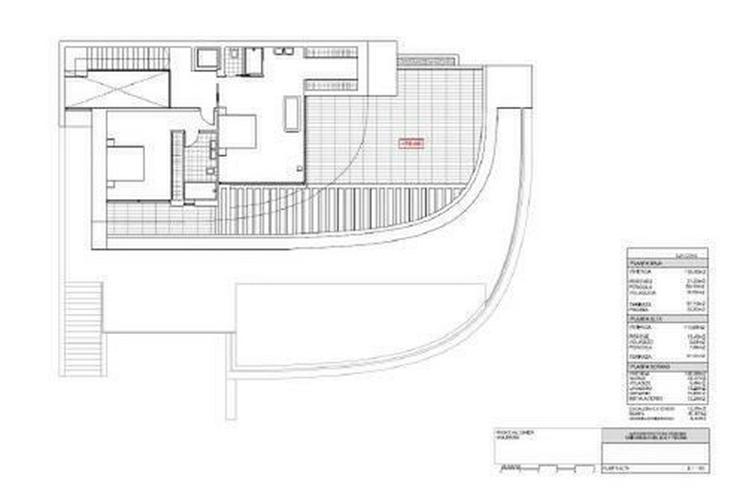 Bild 3: : futuristische Raumschiff Luxus Villa für den erlesenen Geschmack (ohen Grundstück)